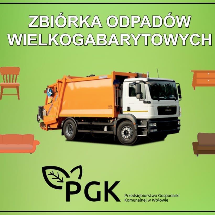 Zbiórka odpadów wielkogabarytowych – Wołów